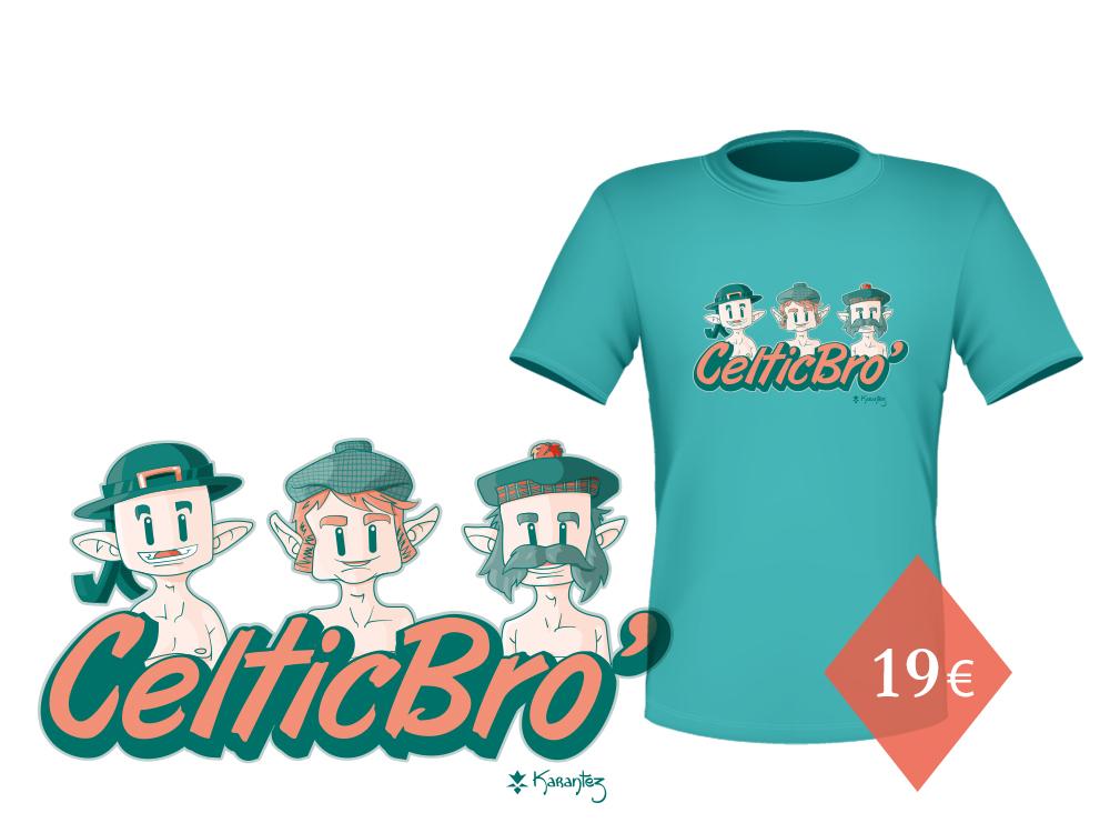 t-shirt celte karantez