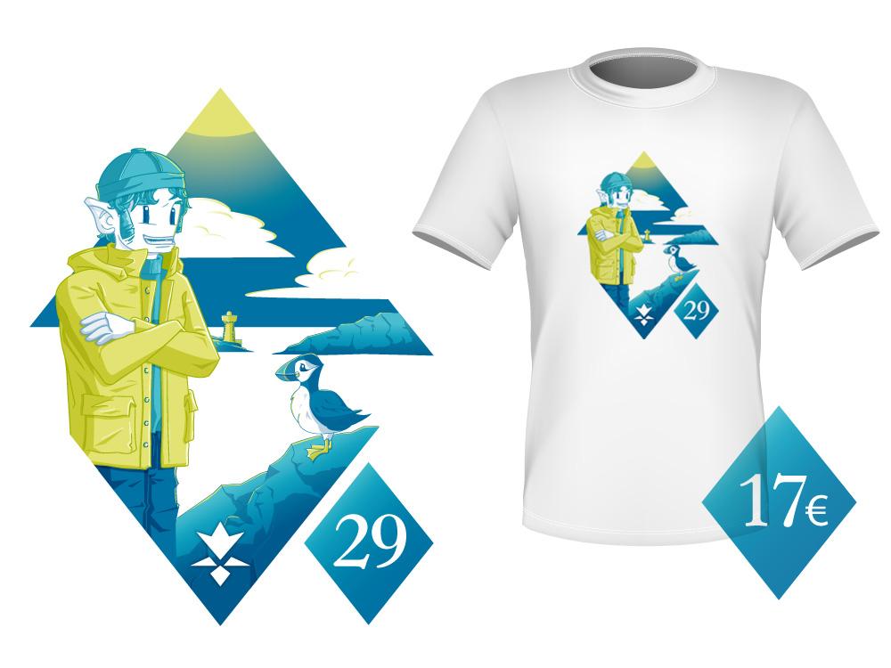 karantez T-shirt Bretagne